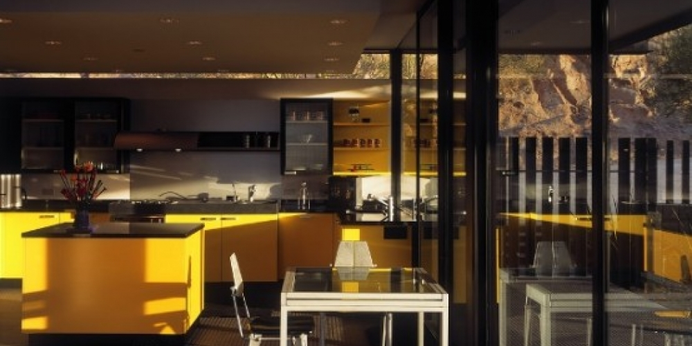 Žltá kuchyňa
