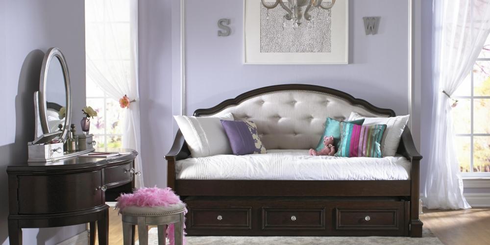Izba pre teenagera v štýle glamour