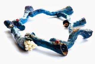 Živý umelecký šperk - Viktória Münzker Ferus
