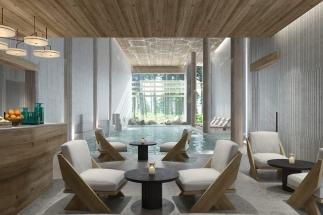 Alpský komplex Six Senses s hotelom, kúpeľmi a súkromnými rezidenciami