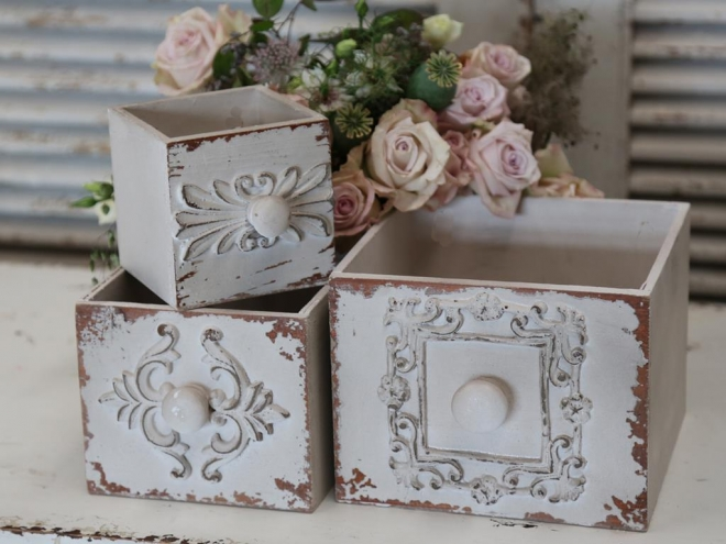 Krabičky s nežným dizajnom